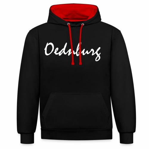 Oednburg Wit - Contrast hoodie
