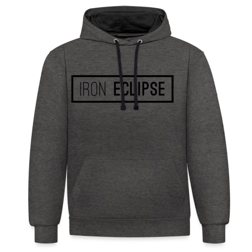 Iron Eclipse - Contrast Colour Hoodie