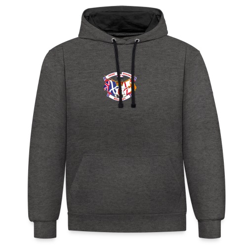 Pride of Shankill - Contrast Colour Hoodie
