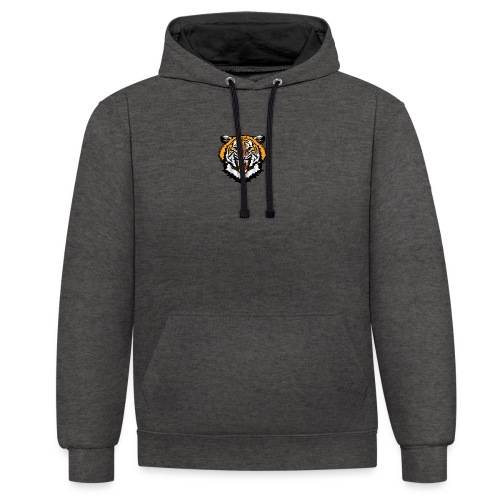 Tiger Clothing - Contrast Colour Hoodie