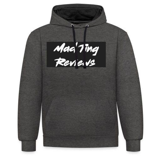 Mad Ting Reviews OG clothing Logo - Contrast Colour Hoodie