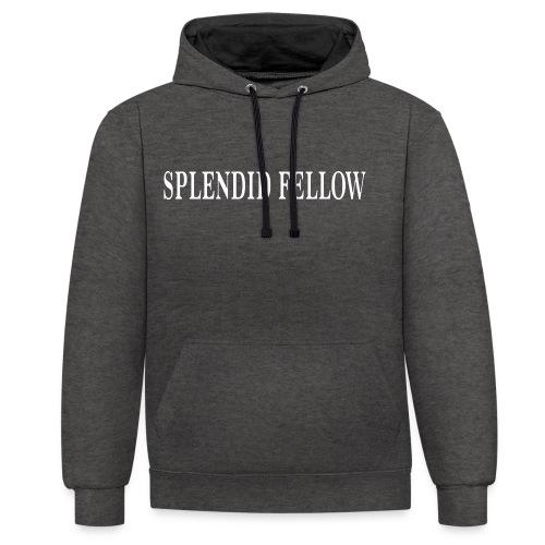 splendid_fellow - Kontrast-Hoodie