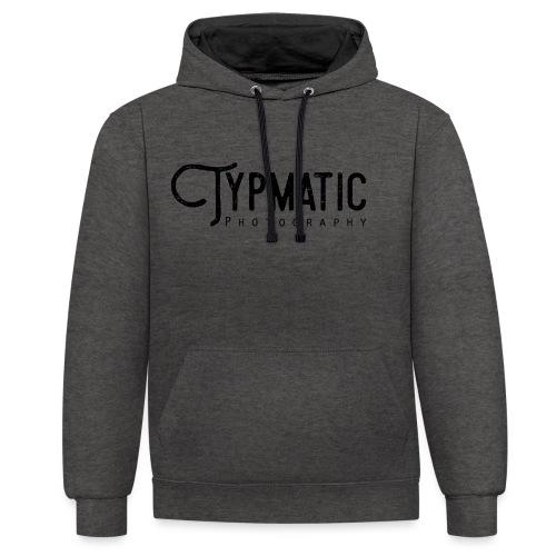 Typmatic Photography - Kontrast-Hoodie