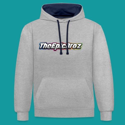 TheEpicBroz - Contrast hoodie