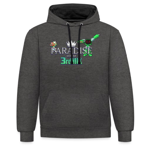 Paradise Online: 3rd Mix - Contrast hoodie