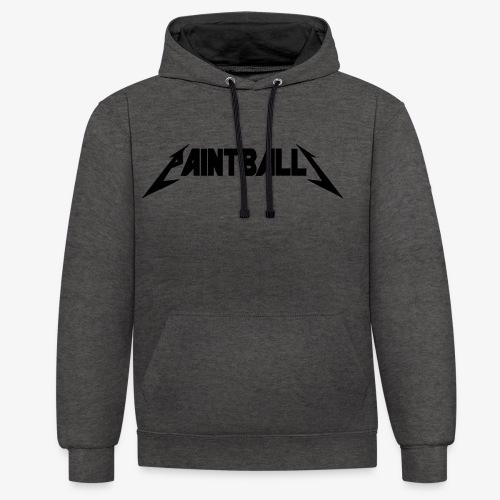 IPWT Metal Black - Sweat-shirt contraste
