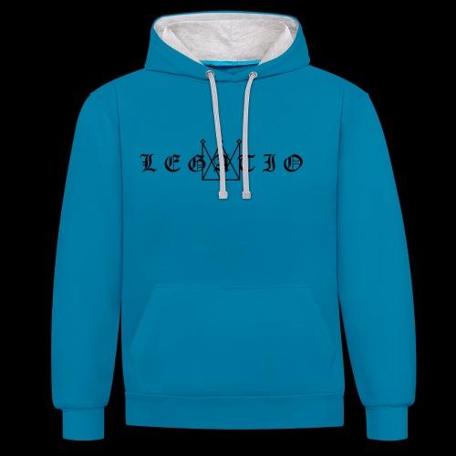 Legatio Fraktur - Contrast Colour Hoodie