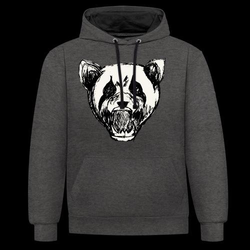 NatureRebellion Panda - Sweat-shirt contraste