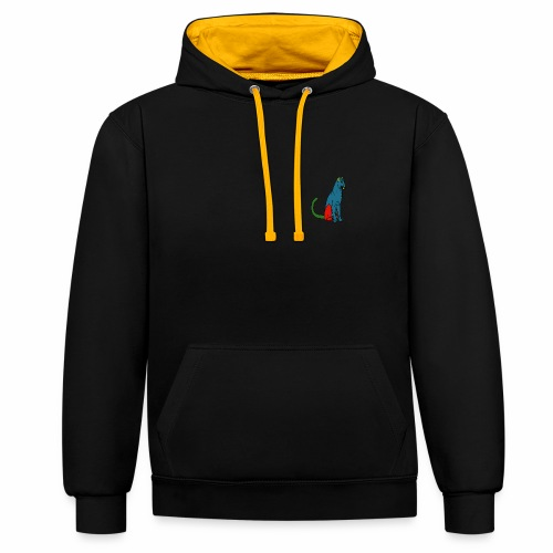 The Panther - Contrast Colour Hoodie