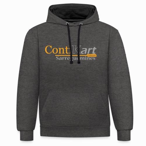 ContiKart Follower - Sweat-shirt contraste