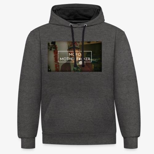 Finger up - Contrast hoodie