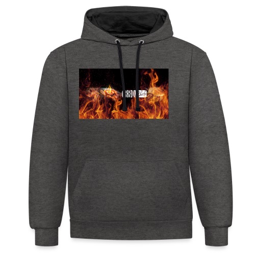 Barbeque Chef Merchandise - Contrast Colour Hoodie