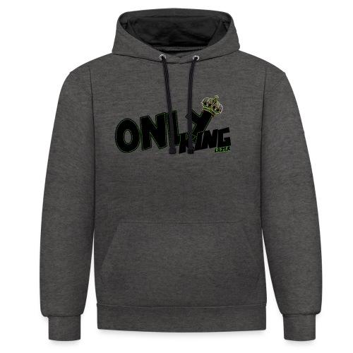 OnlyKing Lazer - Sweat-shirt contraste