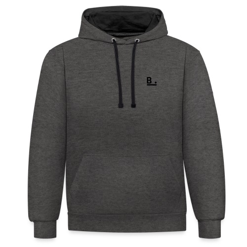 B. Light Side - Contrast Colour Hoodie