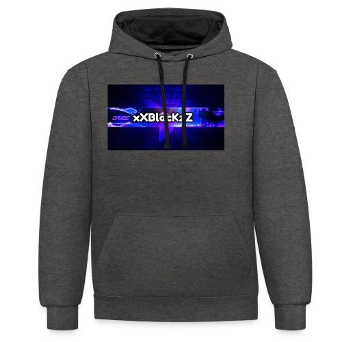 XxBlacKzZ - Kontrast-Hoodie