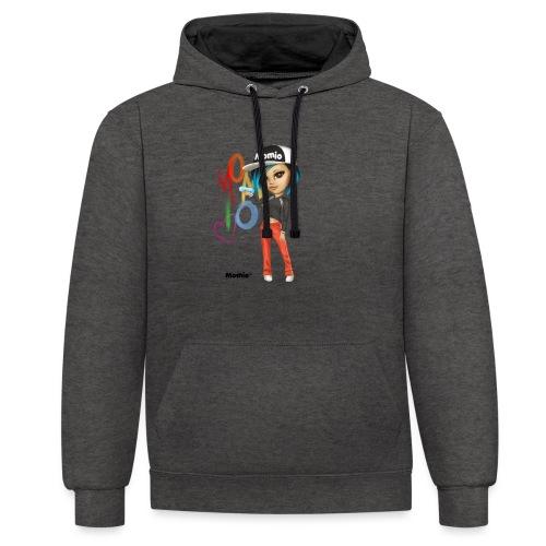 Maya - door Momio Designer Cat9999 - Contrast hoodie