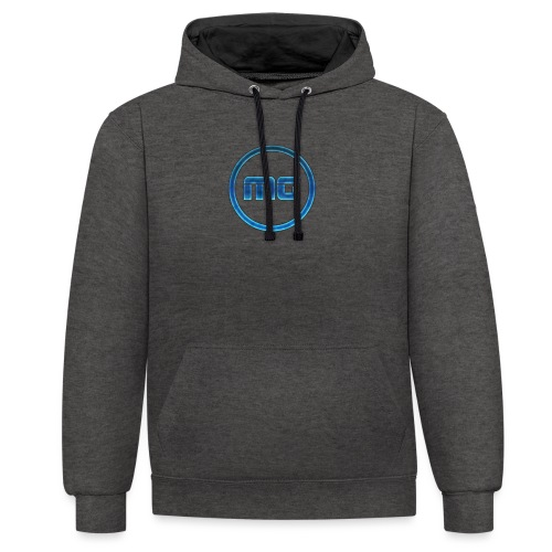 MG Blue - Contrast Colour Hoodie