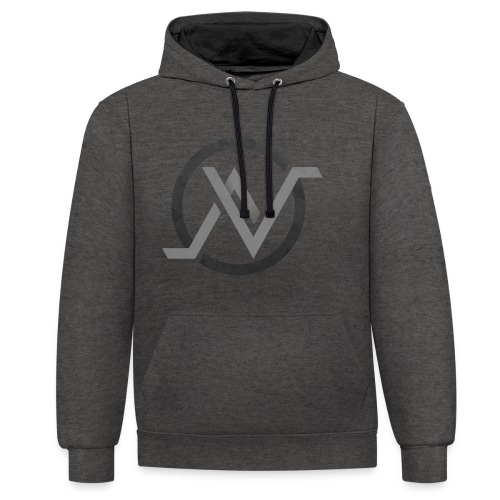 Logo 4 Sweat png - Sweat-shirt contraste
