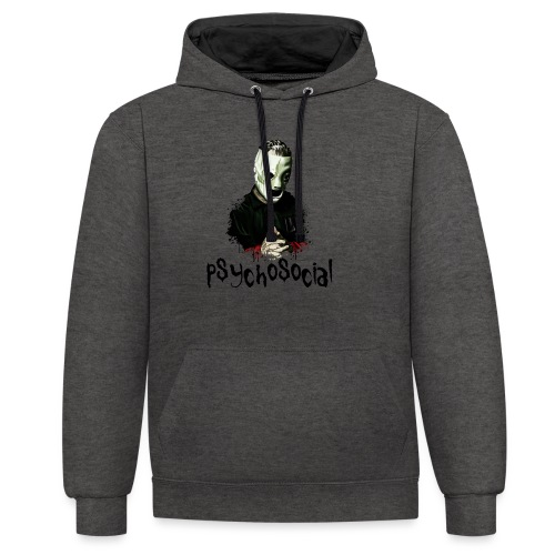 T-shirt - Corey taylor - Felpa con cappuccio bicromatica