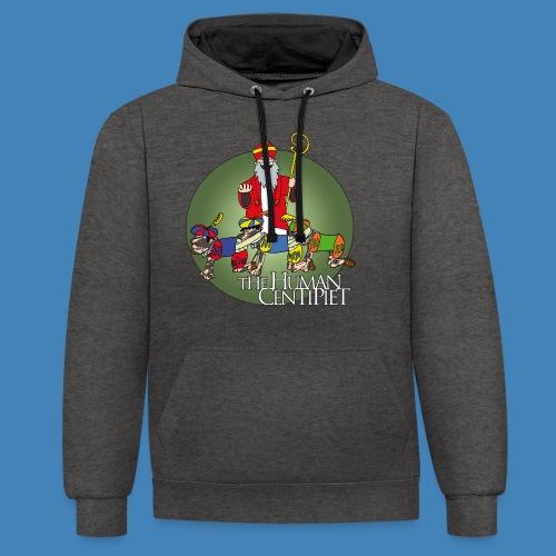 The Human Centipiet - Contrast hoodie