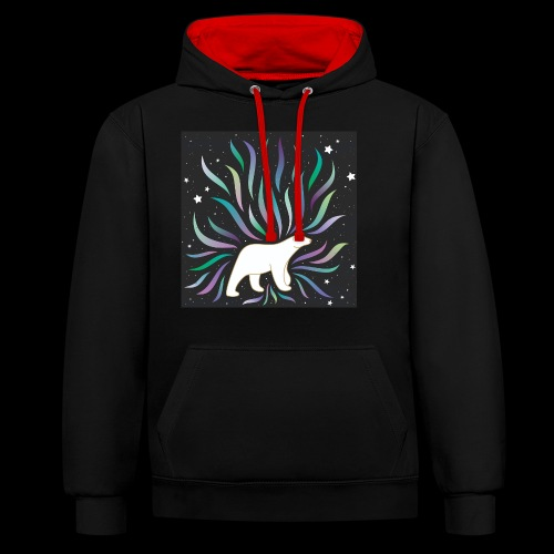 polar ours - Sweat-shirt contraste