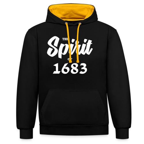 The Spirit of 1683 - Kontrast-Hoodie