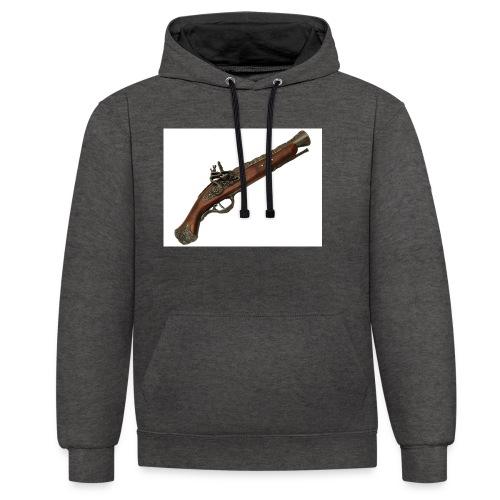 Pistola - Sudadera con capucha en contraste