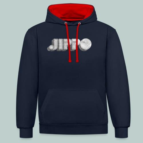 Retro JIPPO logo - Kontrastihuppari