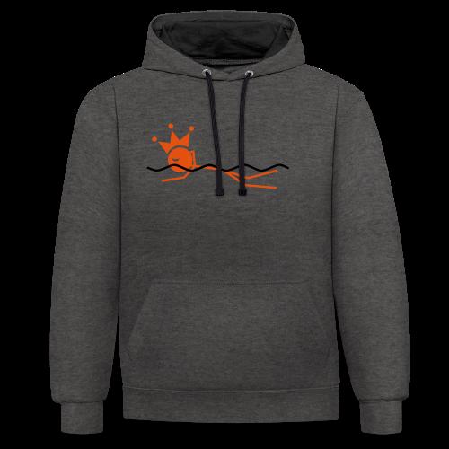Zwemkoning - Contrast hoodie