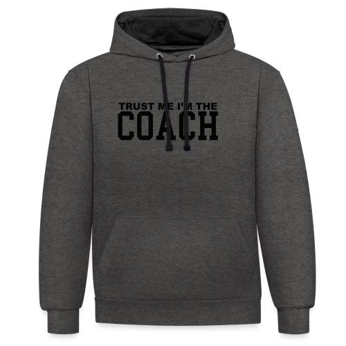 Coach - Sweat-shirt contraste