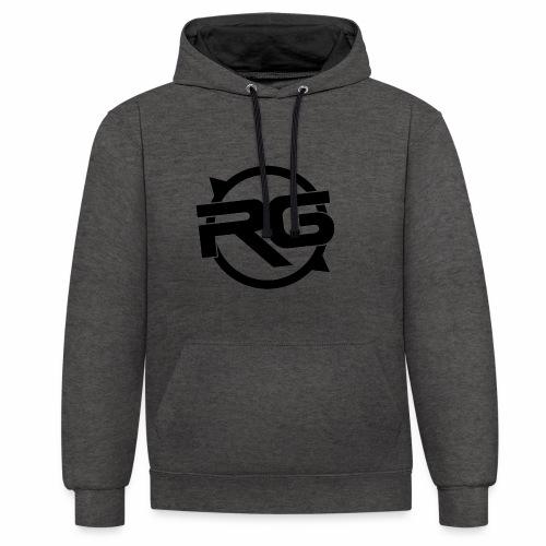 Rg - Kontrast-Hoodie