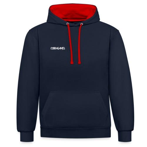 cobragames - Contrast hoodie