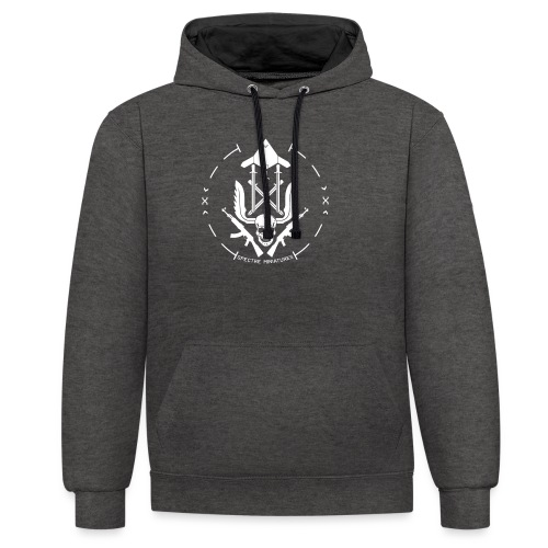 Initiative Logo - Contrast Colour Hoodie