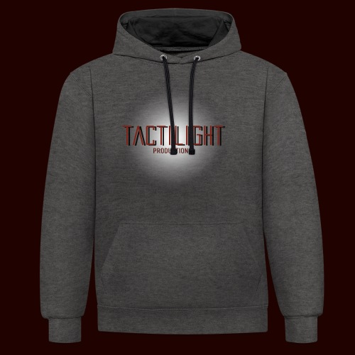 Tactilight Logo - Contrast Colour Hoodie