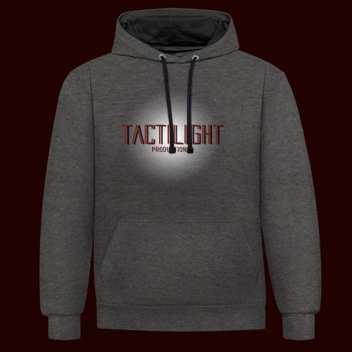 Tactilight Logo - Contrast Colour Hoodie