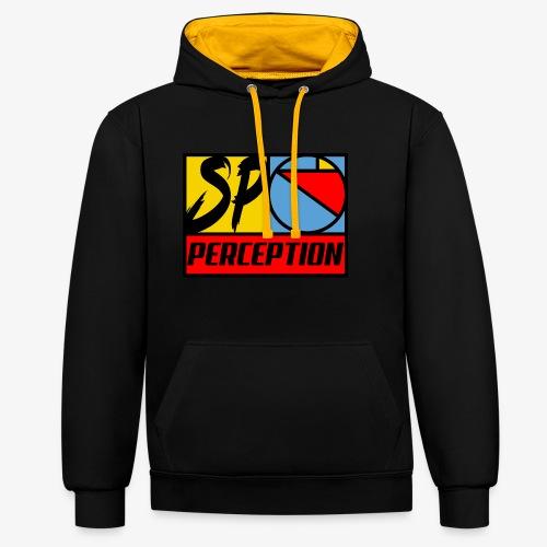 SP RETRO 2019 - PERCEPTION CLOTHING - Sweat-shirt contraste