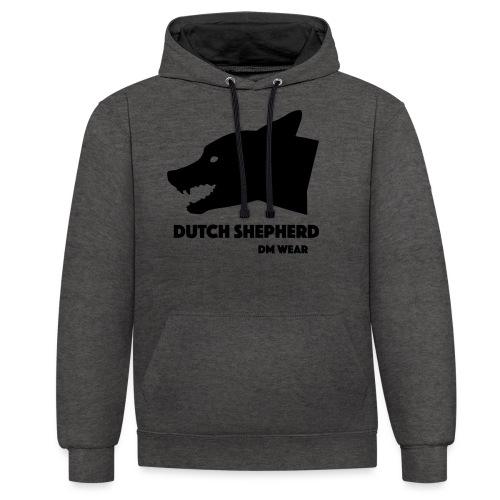 DM Wear Dutch Shepherd - Contrast Colour Hoodie