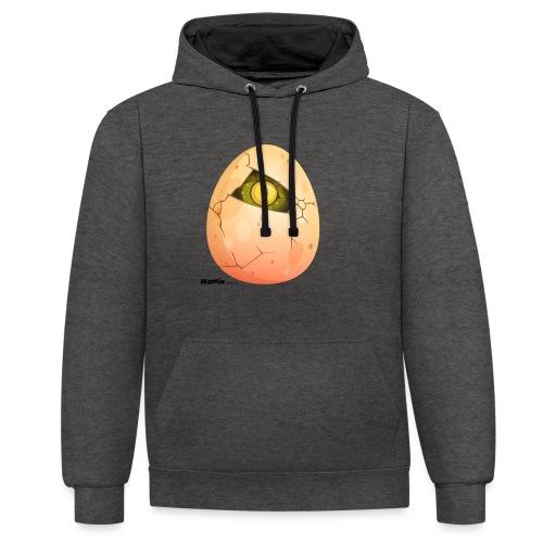 Ei - Contrast hoodie