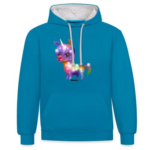 Llamacorn - Contrast hoodie