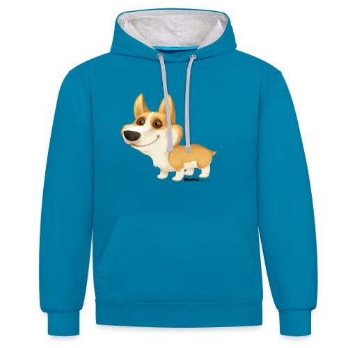Corgi - Contrast hoodie