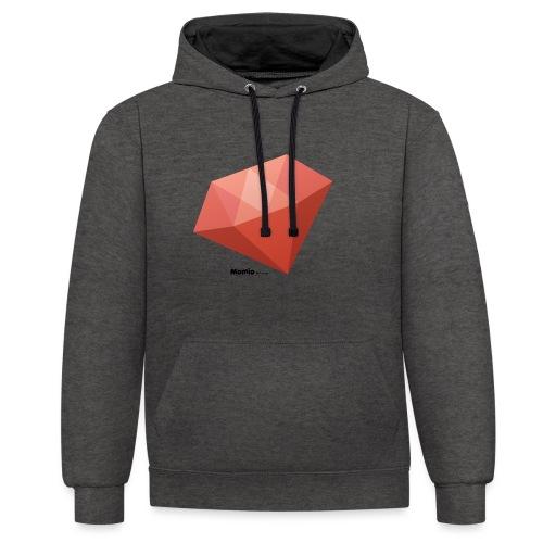 Diamant - Contrast hoodie