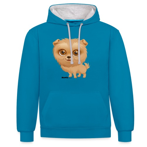 Dog - Contrast hoodie