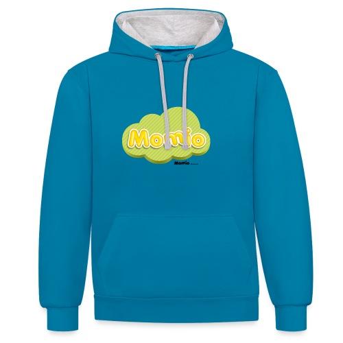 Logo van Momio - Contrast hoodie
