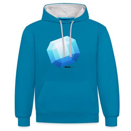 Saffier - Contrast hoodie
