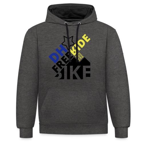 DH Freeride Bike - Kontrast-Hoodie