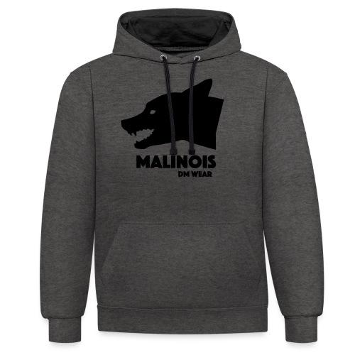 DM Wear Malinois - Contrast Colour Hoodie
