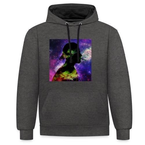 UnikatCoverPNG - Kontrast-Hoodie