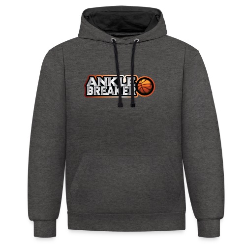 Ankle Breaker for real streetball players - Contrast Colour Hoodie