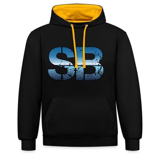 SB Logo - Kontrast-hættetrøje