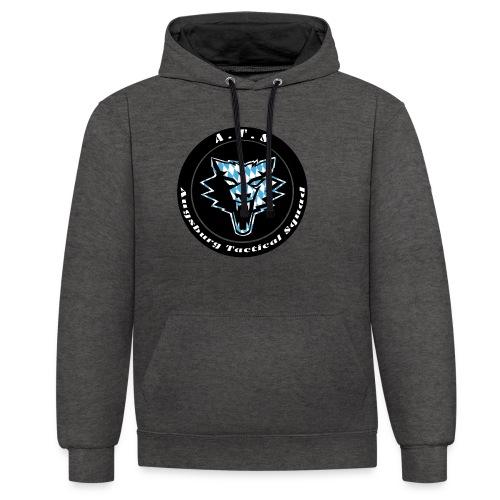 ATS Logo - Kontrast-Hoodie